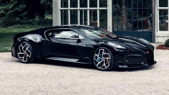 Bugatti La Voiture Noire in Its Final Production Form