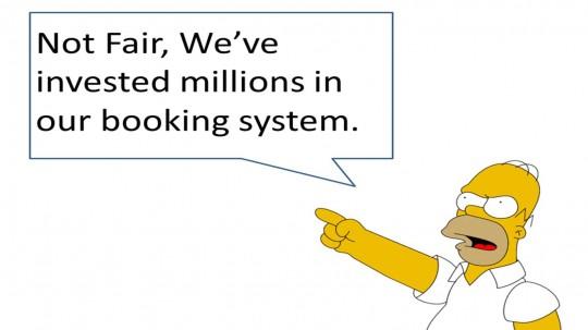 Homer fires first shot