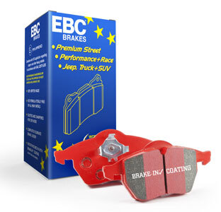EBC RED STUFF FRONT DISC BRAKE PADS for Jeep Grand