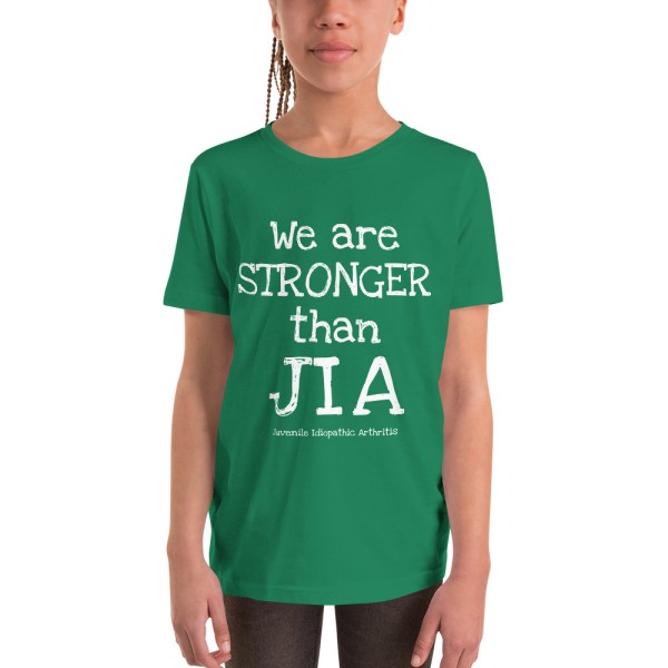 Stronger than Juvenile Idiopathic Arthritis