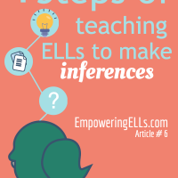 Teaching inferencing strategies to ELLs