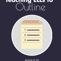 Teaching ELLs to outline