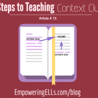 ELL strategies for context clues