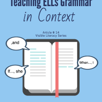 ELL strategies for grammar instruction as you read.