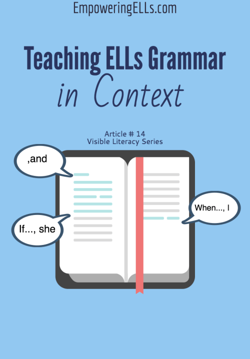 small resolution of A14. Why Daily Edits Aren't Grammar Instruction: Teaching Grammar Through  Guided Reading   Empowering ELLs