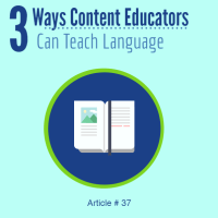 ELL strategies content teachers