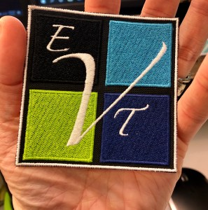 EVTeam Embroidery Patch