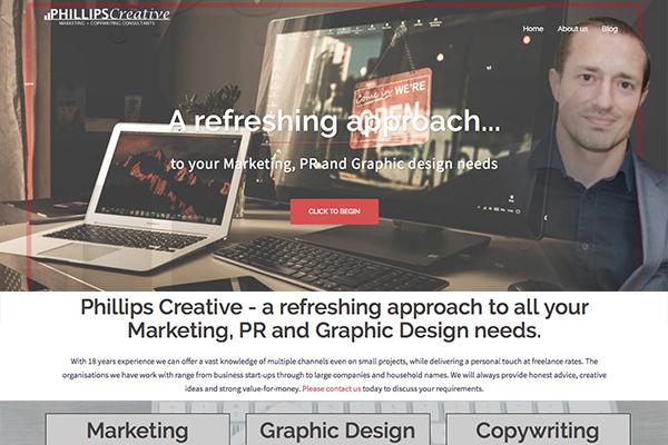 Website Design Phillips Creative