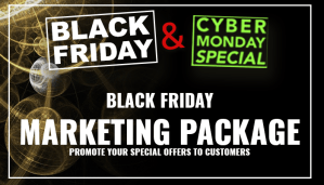 Black Friday graphic design help