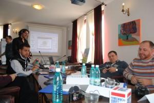 Working in Romania