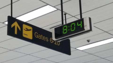 セブ・マクタン国際空港にて