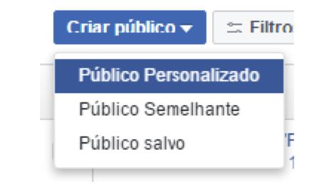 público personalizado facebook