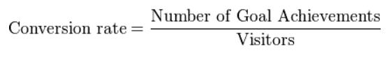 fórmula taxa de conversão de vendas