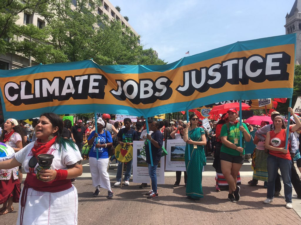 climate jobs justice
