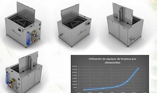 Máquinas limpiador ultrasonidos