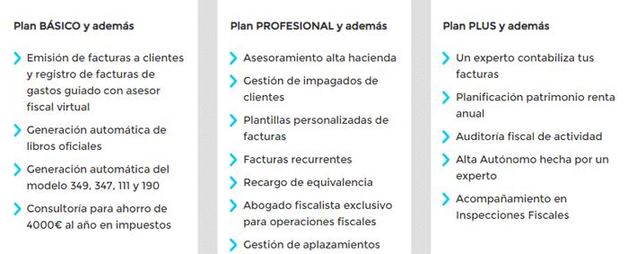 Planes fiscales Declarando.es