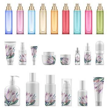 Tipos envases perfumes