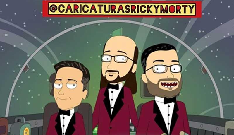 Caricaturas Rick y Morty