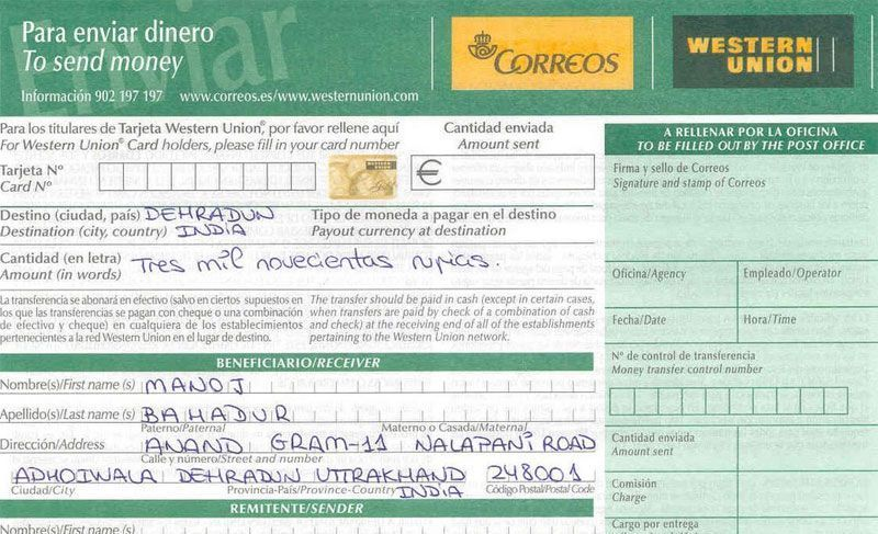 Western Union Correos