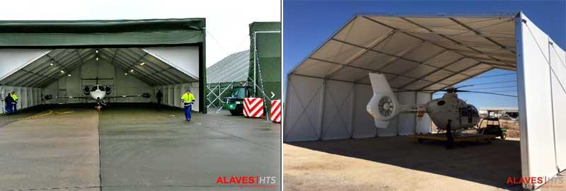 Carpas hangares