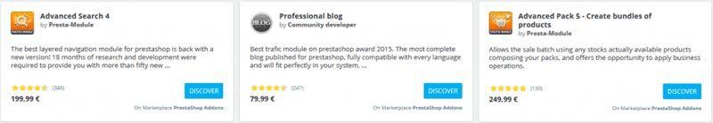 Marketing para Prestashop