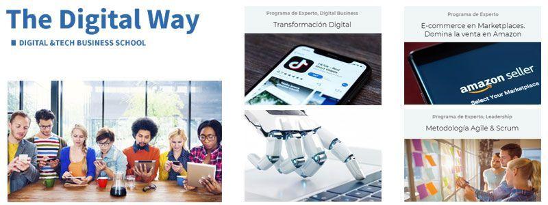 The digital way business school