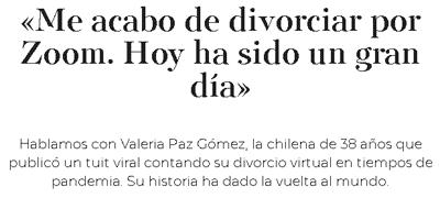 Divorciarse online en Chile