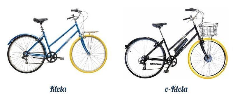 Tipos de bicicletas Kleta