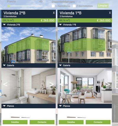 Visitas virtuales inmobiliarias