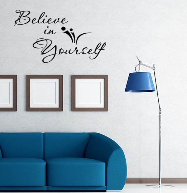 In Inspirational Wall Sticker Quote
