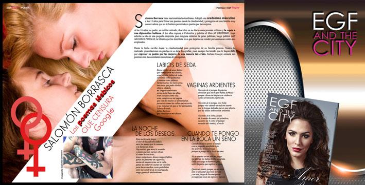 lesbian poems Lesben Gedichte Luis Garca Montero En