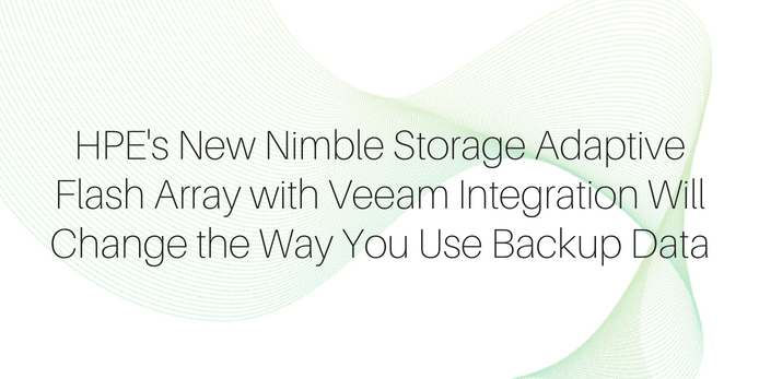 HPE's New Nimble Storage Adaptive Flash Array | EMPR Group
