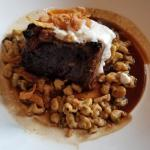 Beef short ribs with horseradish cream sauce