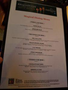Magical Dining Month, Venue Ten (Fig's Prime)