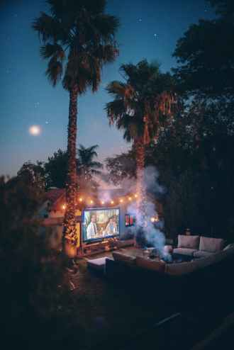 summer bucket list, outdoor movie