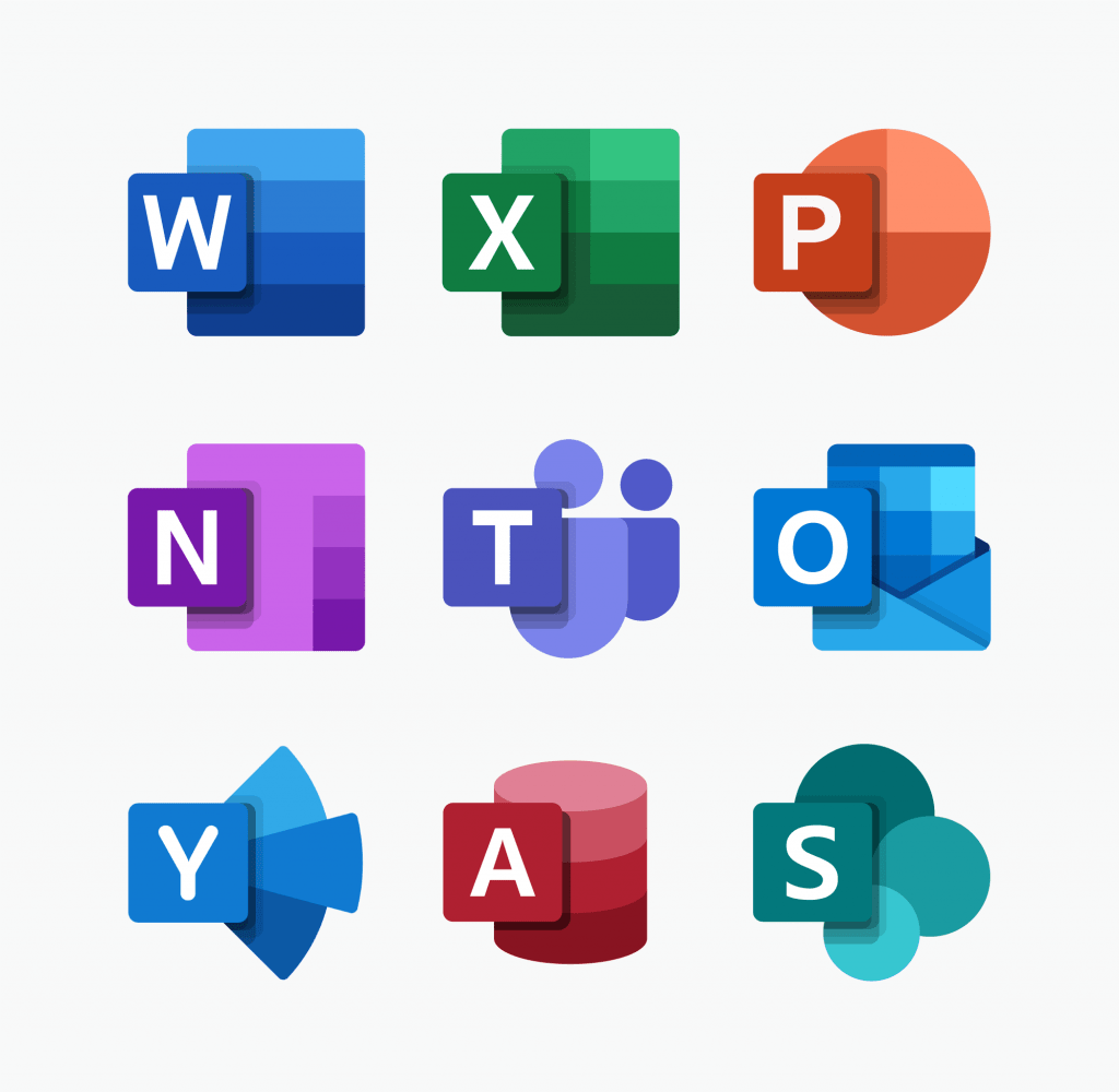 Microsoft Reveals New Office App Icons Emre Aral