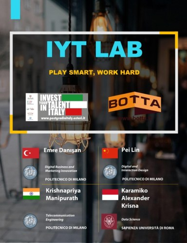 Invest Your Talent in Italy Scholarship Botta Packaging Lab