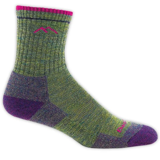 Five winter must-haves: Darn Tough Women's Hiker Micro Crew Socks - Green