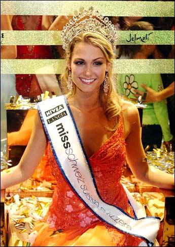 Miss Schweiz Suisse Svizzera Switzerland 2005 Lauriane