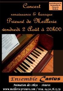 concert prieuré