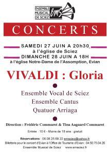 Concerts 27-28 juin 2015