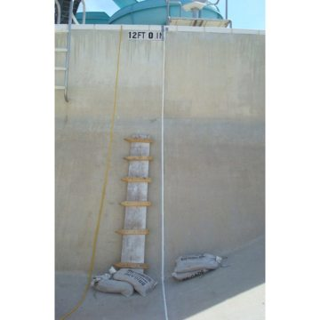 Sealing Joints In Swimming Pools--Submerseal Handles the Pressure