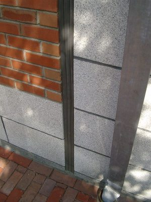 What is an expansion joint? Here is a wall expansion joint designed to absorb building movements