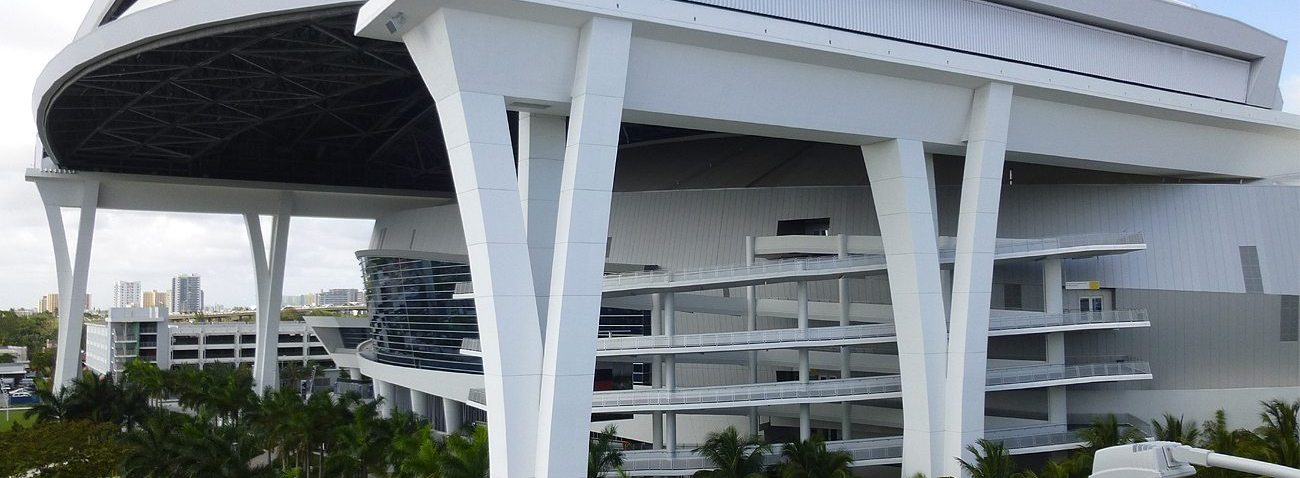 FL Marlins Stadium expansion joints by EMSEAL