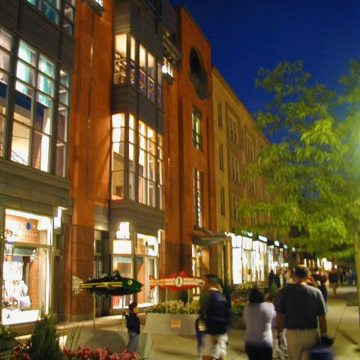 EMSEAL's 25V installed at NikeTown on Newbury Street in Boston, Massachusetts.