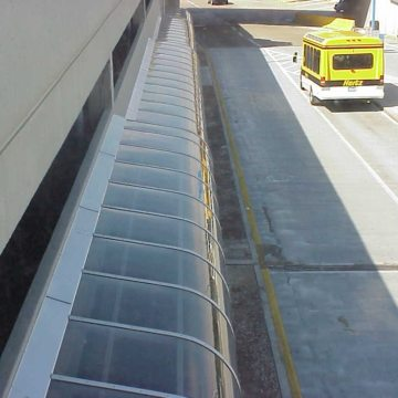 EMSEAL Seismic Colorseal Expansion Joint at St. Louis' Lambert Field International Airport