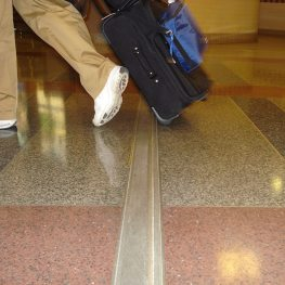 Expansion joint covers: Migutrans installed in Richmond International Airport.