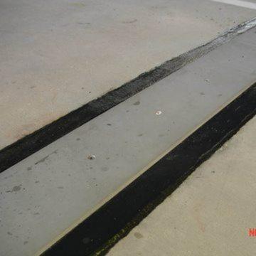 EMSEAL's SJS Seismic Joint System installed in Atlanta's Hartsfield-Jackson International Airport parking deck.