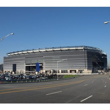 EMSEAL stadium expansion joints installed at NJ Meadowlands Jets Giants MetLife Stadium.