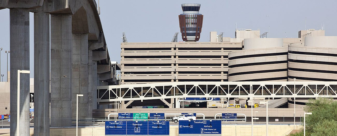 Airport expansion joints PHX Phoenix Sky Harbor International Airport Emseal